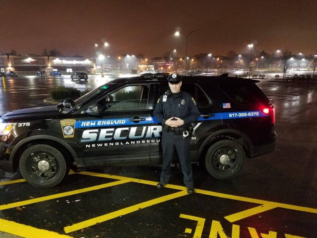 Overnight Uniformed Unarmed Security Guard Patrol Officer